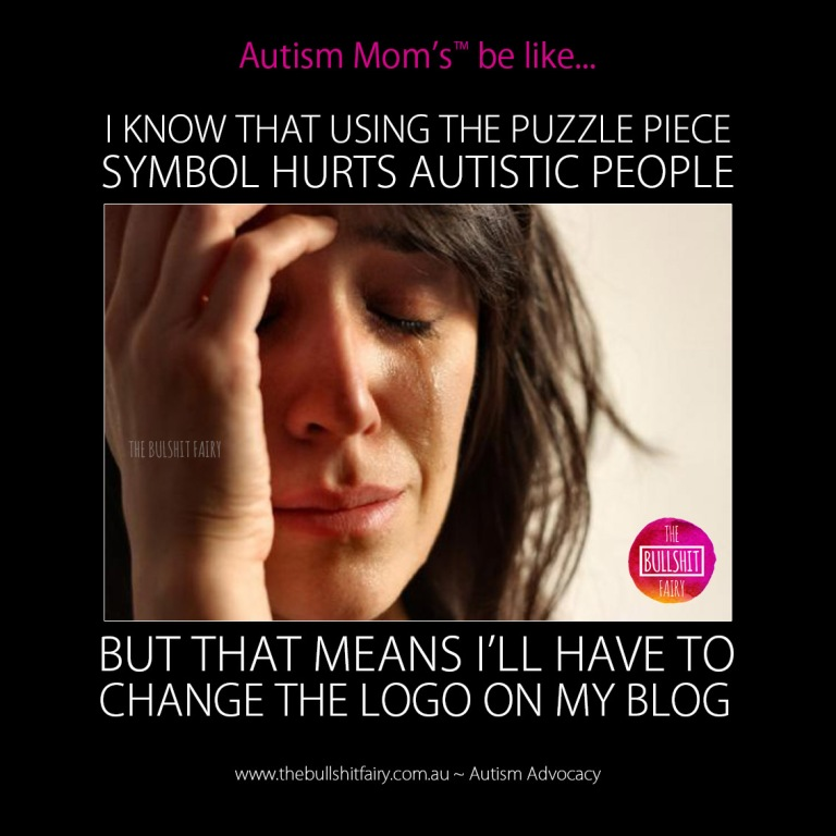 The Bullshit Fairy _Autism Mom _Change Logo