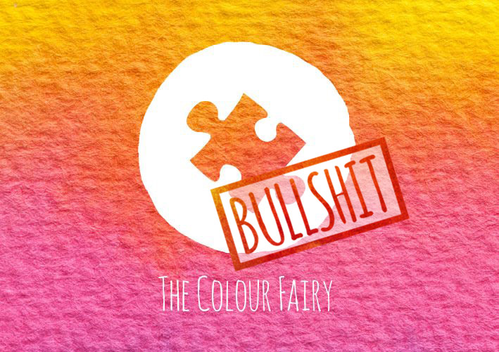 The Colour Fairy Logo _Puzzle Piece _Bullshit