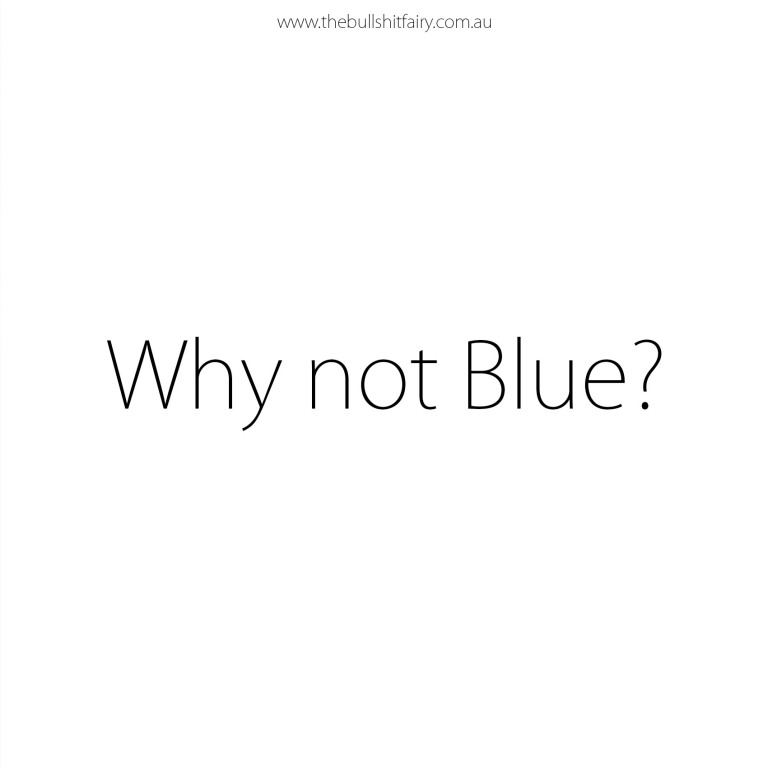 Why Not Blue? Boycott Autism Speaks