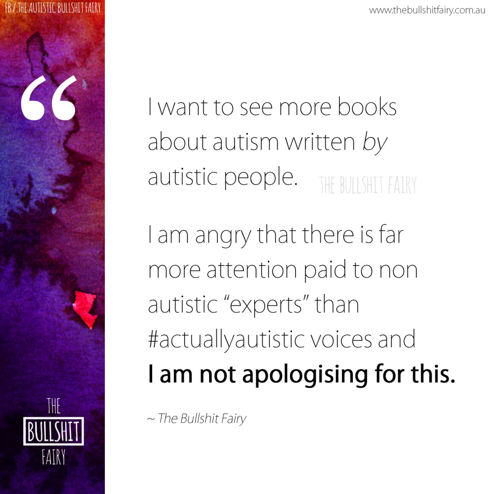 The Bullshit Fairy - Listen to #ActuallyAutistic voices